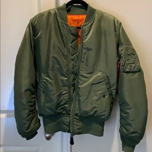 ALPHA MA-1 FLIGHT JACKET (HERITAGE)